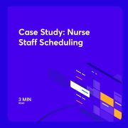 A case study Giving nurses input into scheduling